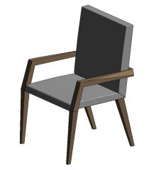 Paxton Chair Revit Family