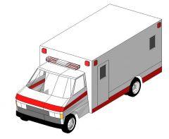 Ambulance Revit Family