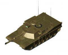 M1A1 Tank Revit Family
