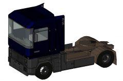 Camion Magnum Truck Revit Family