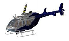Helicopter Bell Revit Family