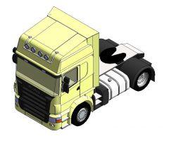 Motrice Scania s Revit Family