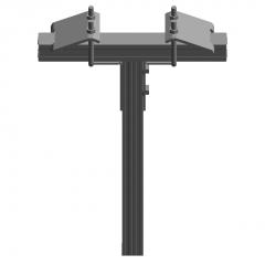 Vertical slot (fixed column) revit family