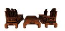 ベトナムのリビングルームのテーブルと椅子のskp