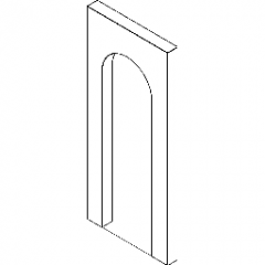 Wall Opening Round Top Revit