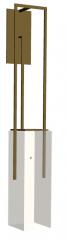 Wall golden lamp skp