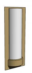 Wall golden mounted lamp skp