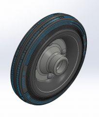 Wheel x.SLDPRT file