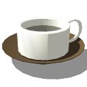 白いスープマグカップskp