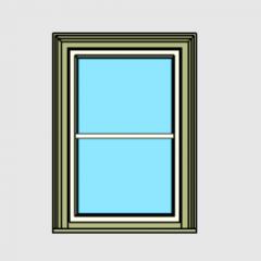 Revit direto chanfrado de caixilhos de janelas