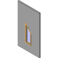 Fenster behoben Half Peak Revit