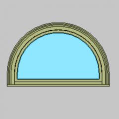 Fenster Inswing Eingang Half Circle Revit