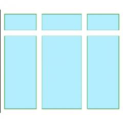 Fenster mit geschweißter Tischlerei Exterior Revit