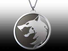 Witcher Medallion sldprt Model