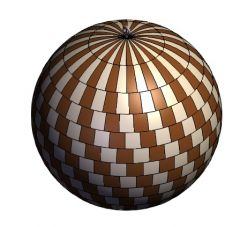 Wooden sphere solidworks