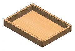 Wooden case A.SLDPRT file