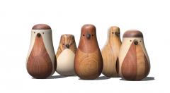 Wooden chicken bowling skp