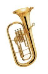 baritone horn dwg drawing