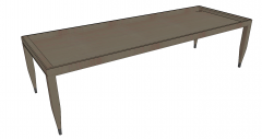 Rusted welding table sketchup