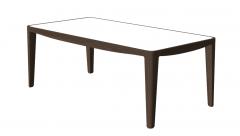 Table de cuisine avec dessus de table en bois blanc sketchup