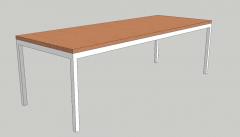 School desk sketchup