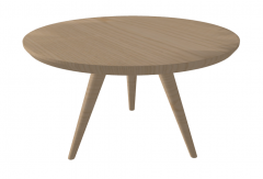 Wooden coffee table sketchup