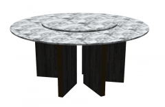 Gray marble coffee table sketchup