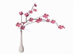 Pink vase revit family