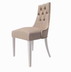 Chair with white footing revit family