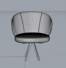 Chair 3dm model