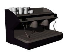 large sized modern coffee machine 3d model .3dm format