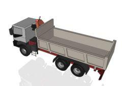 エレベータークレーンsolidworksファイルとトラック