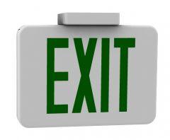 exit sign rhino model .3dm format