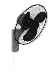 wall hanging modern designed fan 3d model .3dm format
