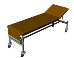 Modern fully mechanized hospital bed 3d model .3dm format