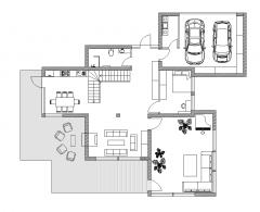 piani di casa a due piani
