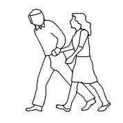 Пара в стороне elavtion.dwg рисунок