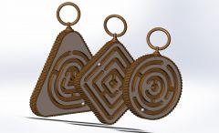 Schlüsselketten-Sldasm-Modell
