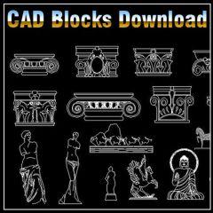 ★ 【Dekoration-Elemente-Block V1】 ★