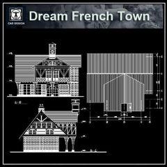 ★ 【sueño francés Town Dibujos】 ★