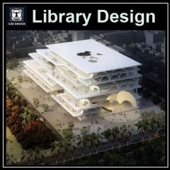 ★【Library Design Drawings】★