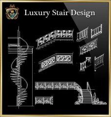 ★ 【Design de escada de luxo】 ★