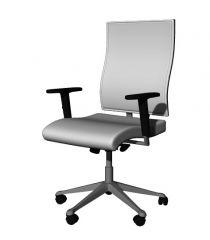 seminar chair designed with back rest modern design 3d model .3dm format
