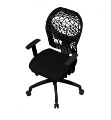 Seminar room chair with rollers 3d model .3dm format