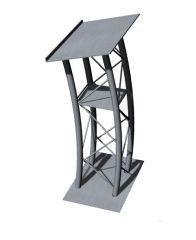 metal designed aesthetic podium 3d model .3dm format