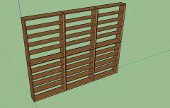 Modern designed large professional rack 3d model .skp format