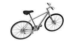 push bike designed for youth 3d model .3dm format