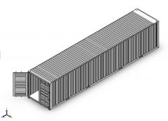 shipping container solidworks Model