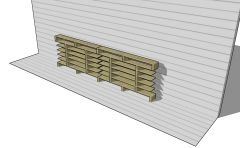 shoe trestle designed with a modern look 3d model .skp format