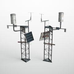 solar battery column skp
